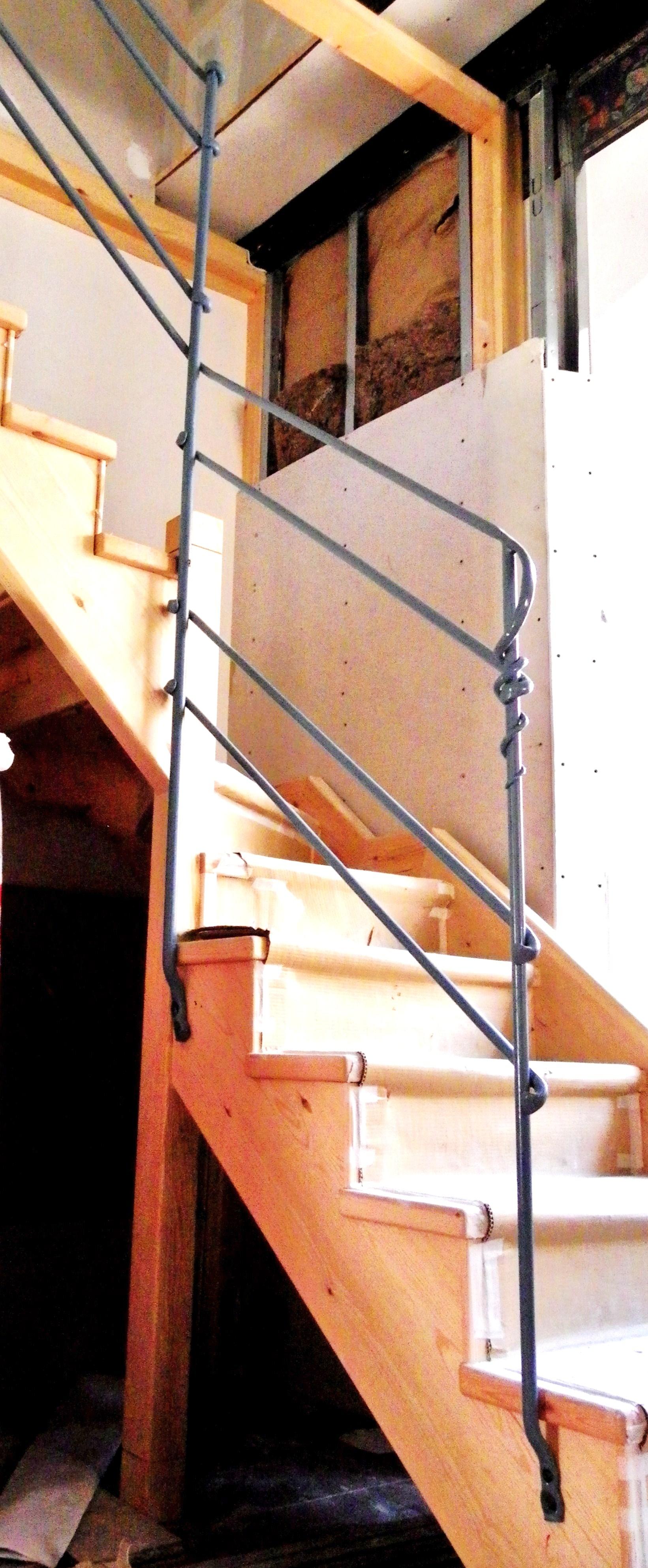 Barandillas la fragua del pirineo for Barandilla escalera exterior