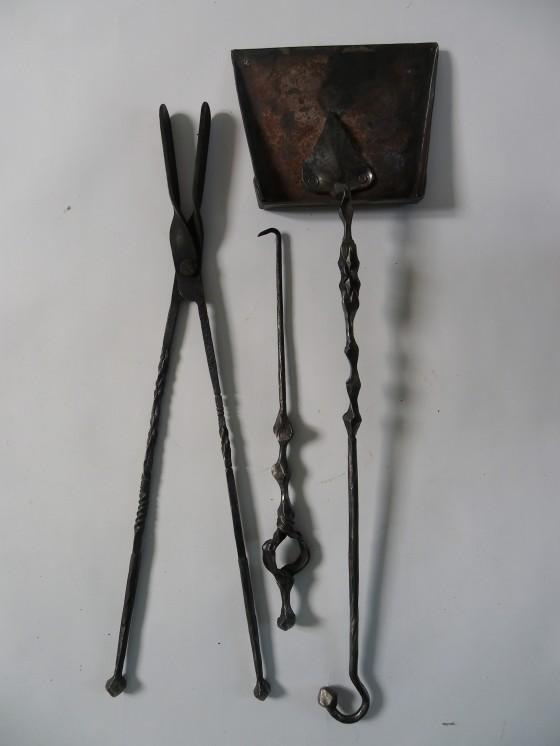 utiles de chimenea